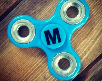 Fidget Spinner Decals - Initial (Spinner NOT included)