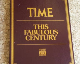 This Fabulous Century, Time-Life History 1920-1970, Six Softcover Books in Slipcase