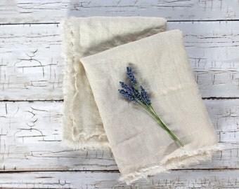 Linen Hand Towels, Farmhouse Bathroom Towel Rustic Hand Towel, Washed Linen  Hand Towel,