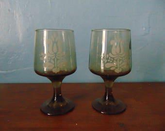 Pfaltzgraff Village 8oz. Stemware Glasses