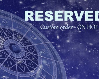 RESERVED for V. - Male Sila Djinni inspired vessel - Handcrafted Emerald Quartz Mystic Topaz pendant necklace