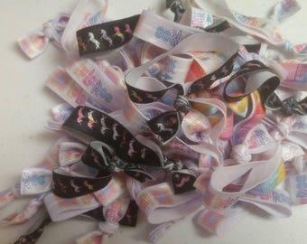 50 Lula Roe Mix Print Hair Ties