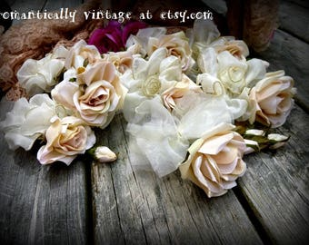 Flowers, Wedding, Corsages, Craft Supplies, Artificial Flowers, Flower Crown, Millinery, Wedding