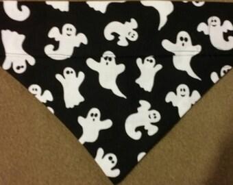 Ghosts All Over Halloween Dog Bandana!!