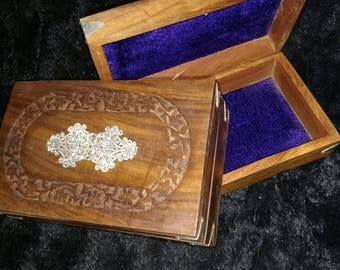 Hinged Wooden Box