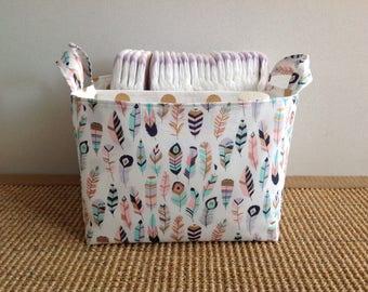 Diaper caddy / nappy caddy / nursery organiser MADE TO ORDER