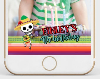 Day Of The Dead Filter, Boy Halloween Filter, Customizable geofilter for any age and event, Customized Filter