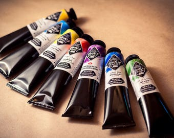 ACRYLIC Paint CUSTOM 46 ml tubes Set Master class Artists St Petersburg Russian Nevskaya palitra Professional Acrylic colours