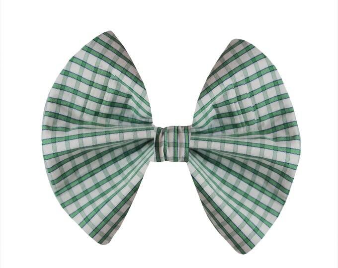 Green Plaid - Repurposed Mens Shirt
