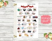 Celebrate September Planner Stickers - National Holiday Stickers - Special Days Stickers - Wacky Holiday Stickers - Holiday Planner Stickers