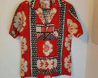 Sidan Barkcloth 60's Shirt