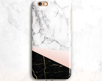 Marble iPhone 8 Case, iPhone 6S Case, White and Black Marble iPhone 7 Case, iPhone 6 Plus, iPhone 5S,White Marble iPhone 6 Case, iPhone 7