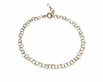 Gold Chain Choker, Choker, Gold Necklace, Thin Chain Choker