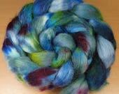 Colour play - Southdown, Kid Mohair, sock wool