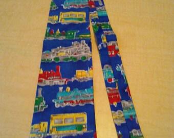 Train Tie for Dad Collectible Unique