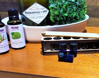 Essential Oil Travel Case - Wood - All Natural