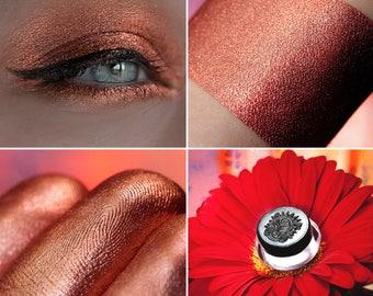Eyeshadow: Beloved - Mermaid. Copper satin eyeshadow by SIGIL inspired.