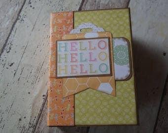 "Mini ""Hello"" GR: 12 x 17 cm"