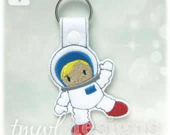 Astronaut Key FOB Digital Design File