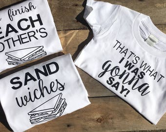 We finish each other's sandwiches, Thats what I was gonna say, Disney inspired frozen shirts , family shirts , couple shirts , vacation ,