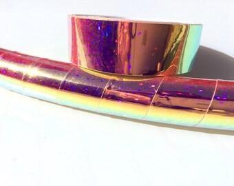 "3/4"" Pink FireFly Galaxy Hula Hoop Tape"
