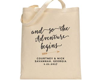 Wedding Party Gift Bags, Destination Wedding Favors, Wedding Party Gifts, Bridal Party Tote Bags, Out of Town Guest Gift Bag, Bridesmaid