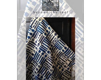 """Pattern """"Faith.Hope.Love"""" Quilt Pattern by Beyond The Reef (BER054) Paper Pattern Instructions"""