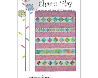 """Pattern """"Charm Play"""" by Creative Sewlutions (CRS410) Paper Pattern Instructions"""