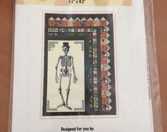 Mr Bones Quilt pattern and panels