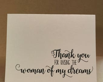 Thank you Father Mother of the Bride | Raising Woman of my Dreams | Parents of the Bride