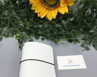 PJ01 - White Hot Summer - PocketJot Traveler's Notebook/Planner Cover/Journal