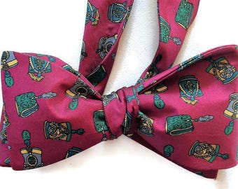 Silk Bow Tie for Men - Parade - One-of-a-Kind, Self-tie - Free Shipping
