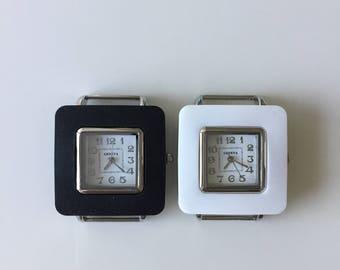 Watch Face/Ribbon Watch Face/Womens Watch Face/Watches/Watch Face for Double Stranded Watch Bands (10521)