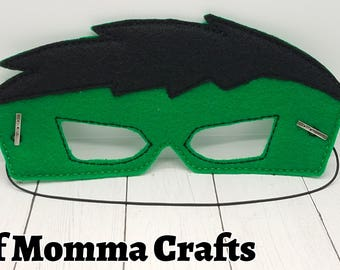 Angry Hero Childs Felt Mask