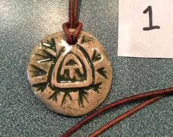 Appalachian Trail Medallion Necklace