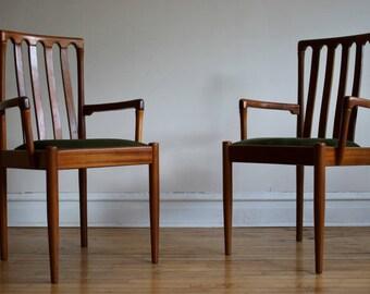 Mid Century Modern Teak Danish Dining Chairs