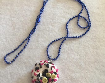 The hungry themed necklace
