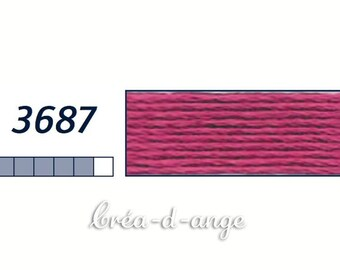 FLOSS DMC Mouline Special Rose # 3687