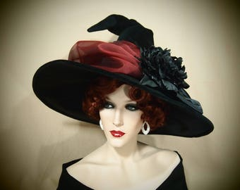 "Witch Hat ""Deep Red"""