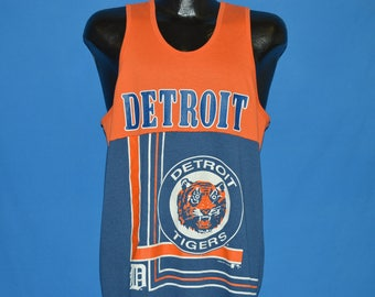 90s Detroit Tigers Tank Top t-shirt Extra Large