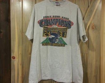 1998 Denver Broncos Super Bowl XXXII Champions t-shirt!