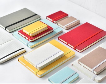A5 Elastic Notebook,Hard cover notebook,Pure Color Journal,Diary,Notepads