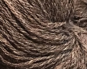 Natural Dark CVM sock yarn