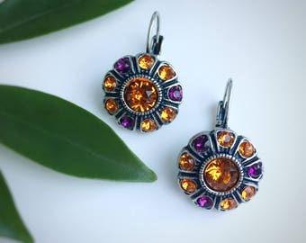 Clemson Tigers inspired Earrings.