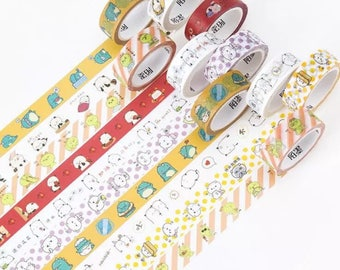 Crazy Animals Washi Tape WT3607C