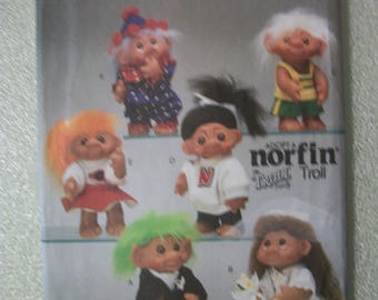 Butterick 6439 10 inch Norfin Troll doll clothes