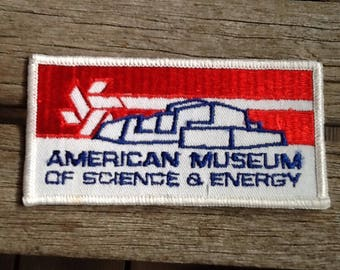 American Museum of Science and Industry Travel Patch Souvenir