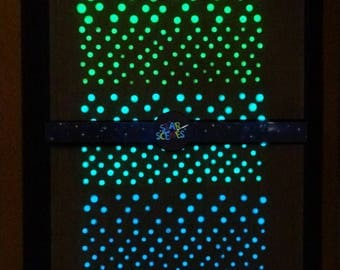 Tiny and Even Tinier Glow In The Dark Star Decals - Star Decor - Star Decorations - Tiny Realistic Stars - Plain Packaging –