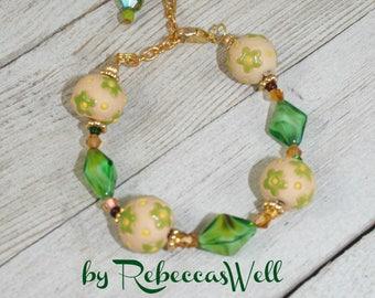 Summer Sunflowers Bracelet