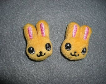 Rabbit plush, 2 pieces (153)